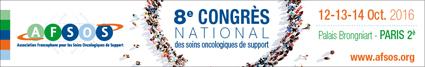 8ème Congrès National de l'Association Francophone des Soins Oncologiques de Support
