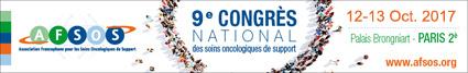 9ème Congrès National de l'Association Francophone des Soins Oncologiques de Support